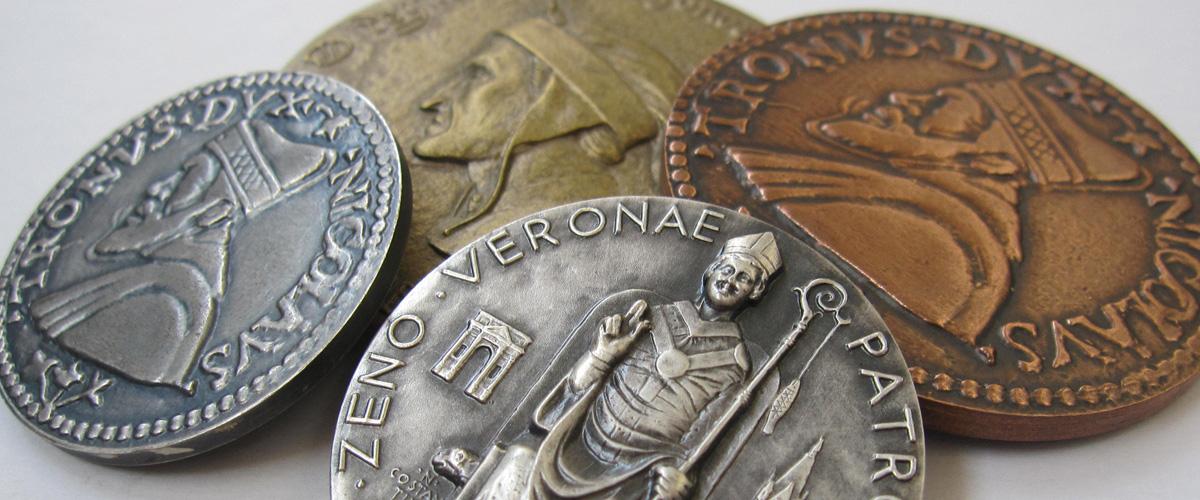 medaglie conii monete